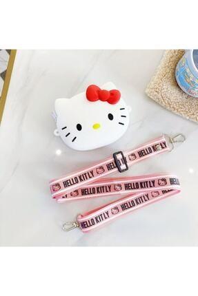 MİSSİNG Kız Çocuk Silikon Hello Kitty Tasarım Omuz Çanta