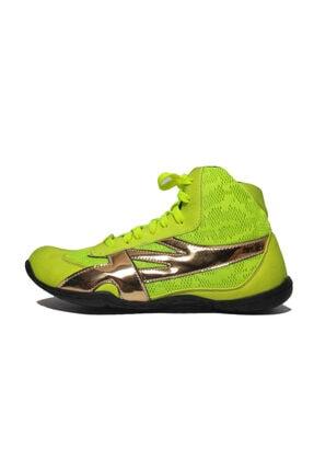 Er Group Unisex Yeşil Güreş, Boks Ve Salon Spor Ayakkabısı
