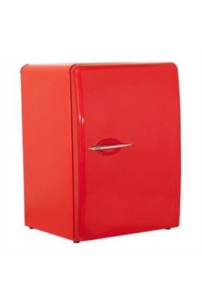 SENOX Retro Mini Buzdolabı 38 Lt Blok Kapak - Kırmızı Renk