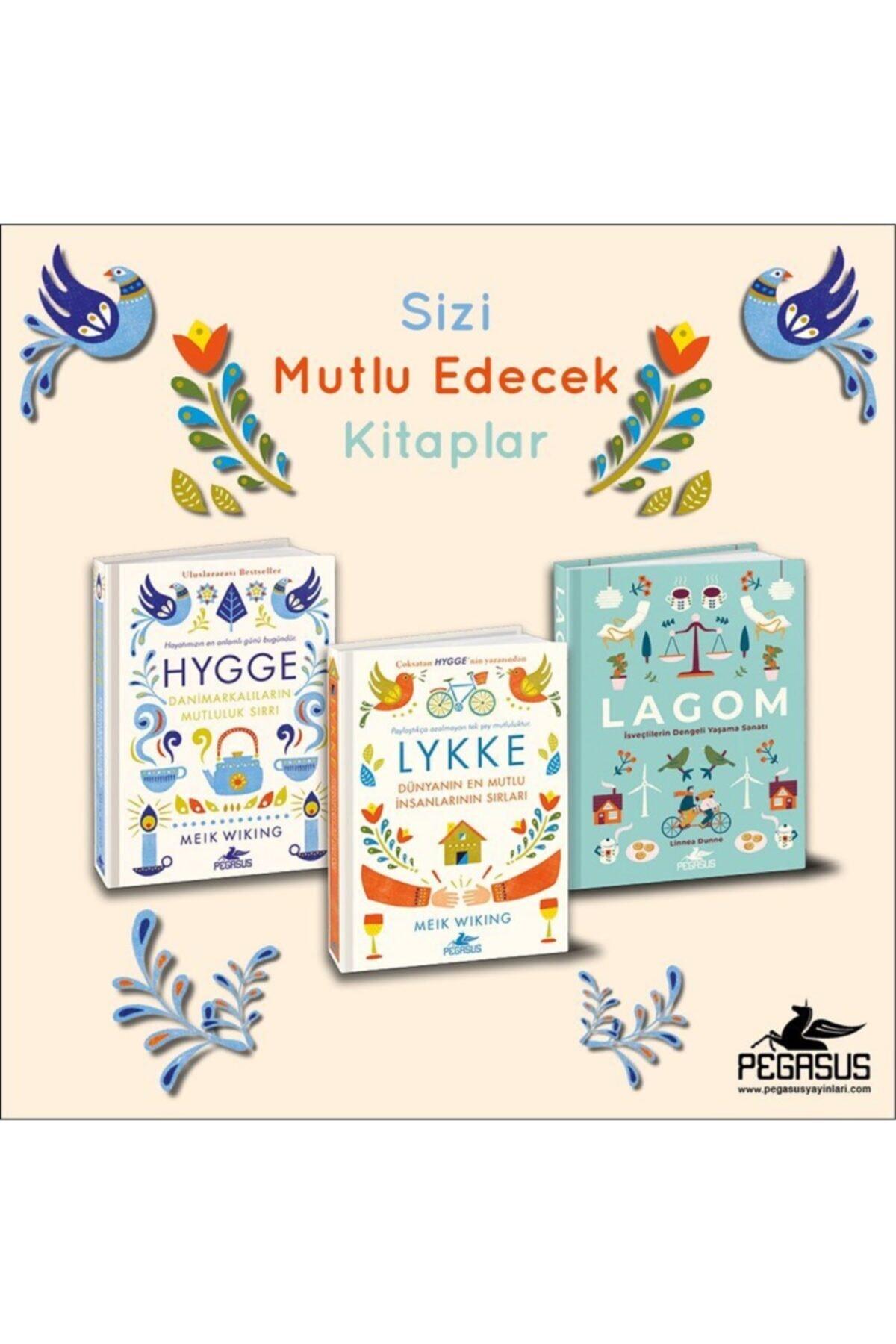 Pegasus Yayınları Hygge + Lykke + Lagom Takım Set (3 Kitap) 1