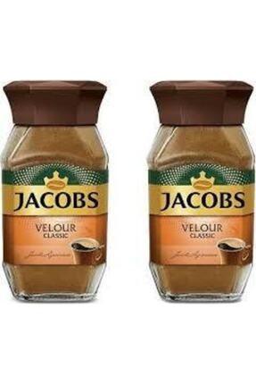 Jacobs Velour Klasik Kahve 2 Adet 95 G