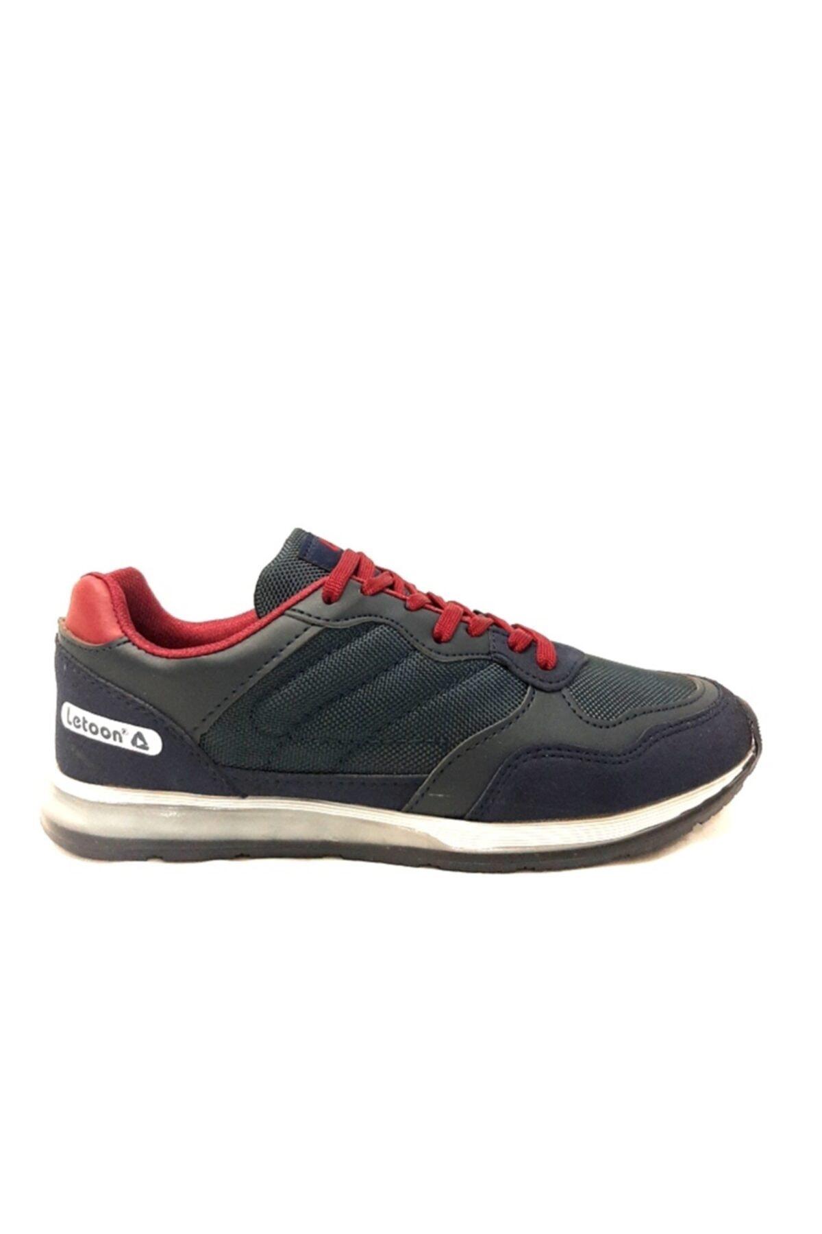 LETOON Jel Taban Lacivert Erkek Spor Ayakkabı 1