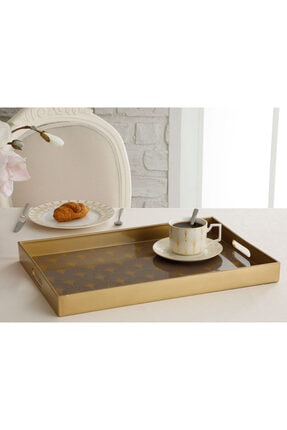 English Home Daina Tepsi 45.5x31 Cm Kahve