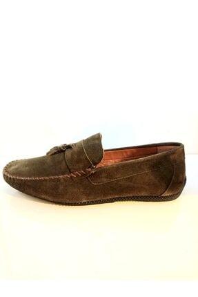 MARCOMEN Erkek Haki Püsküllü Ayakkabı