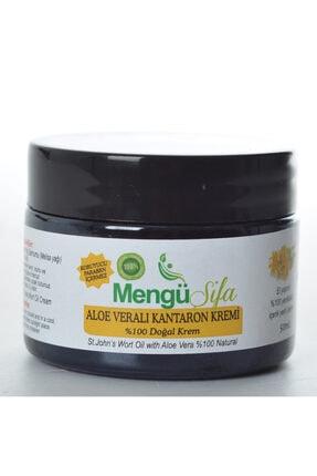 mengü şifa %100 Doğal Aloe Vera+ Sarı Kantaron Yağı Kremi 50 ml %100 Iade Garantili
