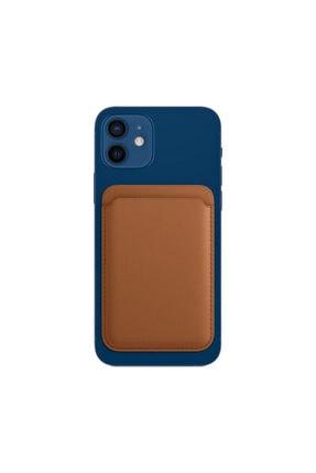 Deilmi Iphone 12 Mini | 12 Pro Max Uyumlu Magsafe Özellikli Kartlık Cüzdan