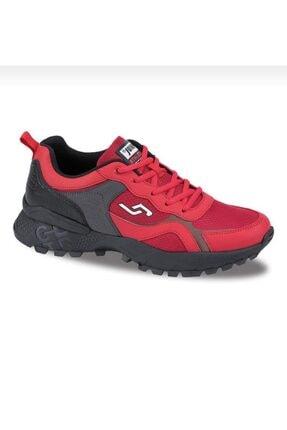Jump Erkek Kırmızı Bağcıklı Sneaker