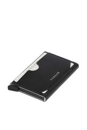 Tergan Unisex Siyah Deri Kredi Kartlık S1KK00000260