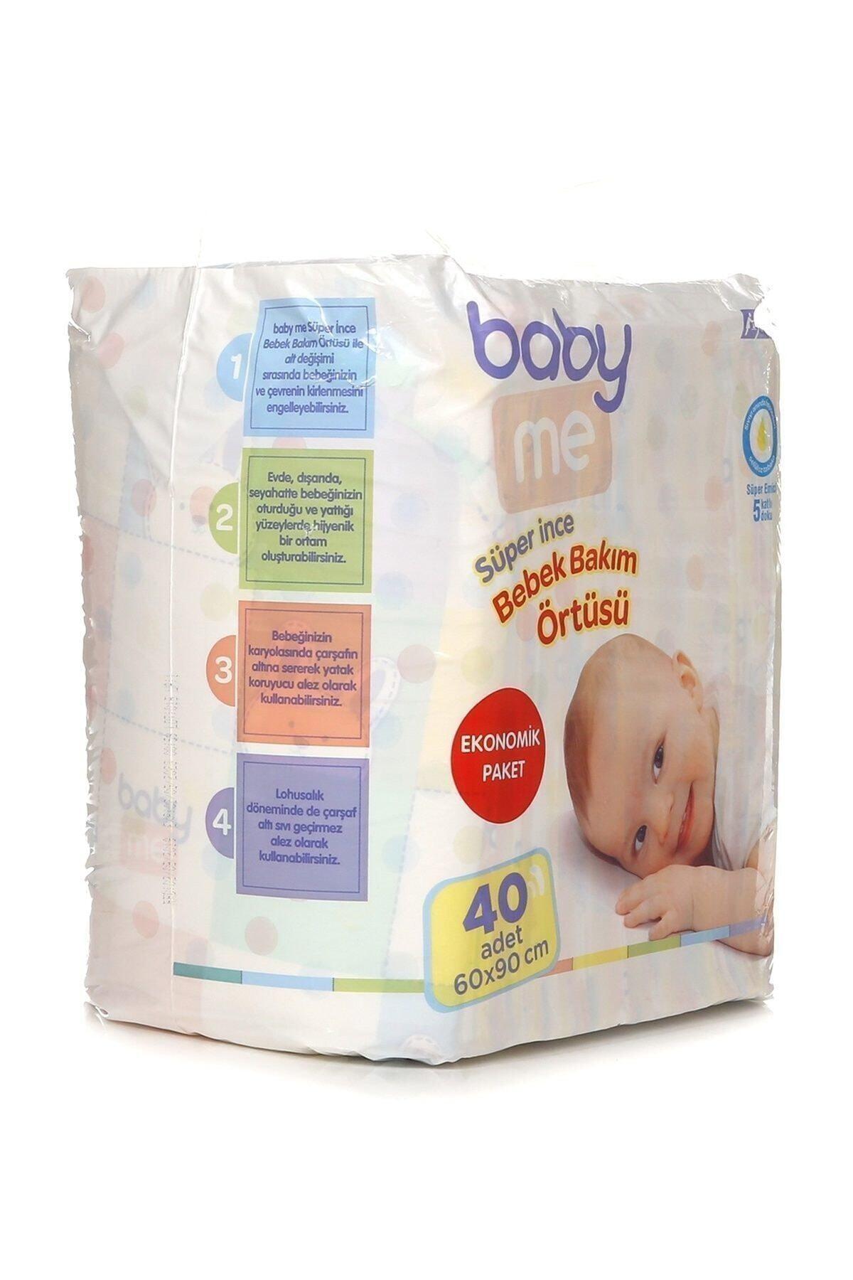 Baby&Me Süper Ince Alt Değiştirme Örtüsü 60 X 90 Cm 40 Adet 2