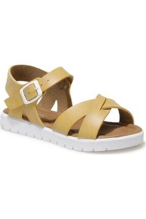 Polaris Kız Çocuk Sarı Sandaleti 508159