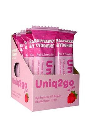 Uniq2Go In Love Yoğurt Ve Ahududulu Protein Bar 12 Adet