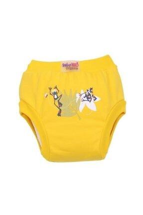 BabyNEO Organik Pamuk Alıştırma Külodu Sarı