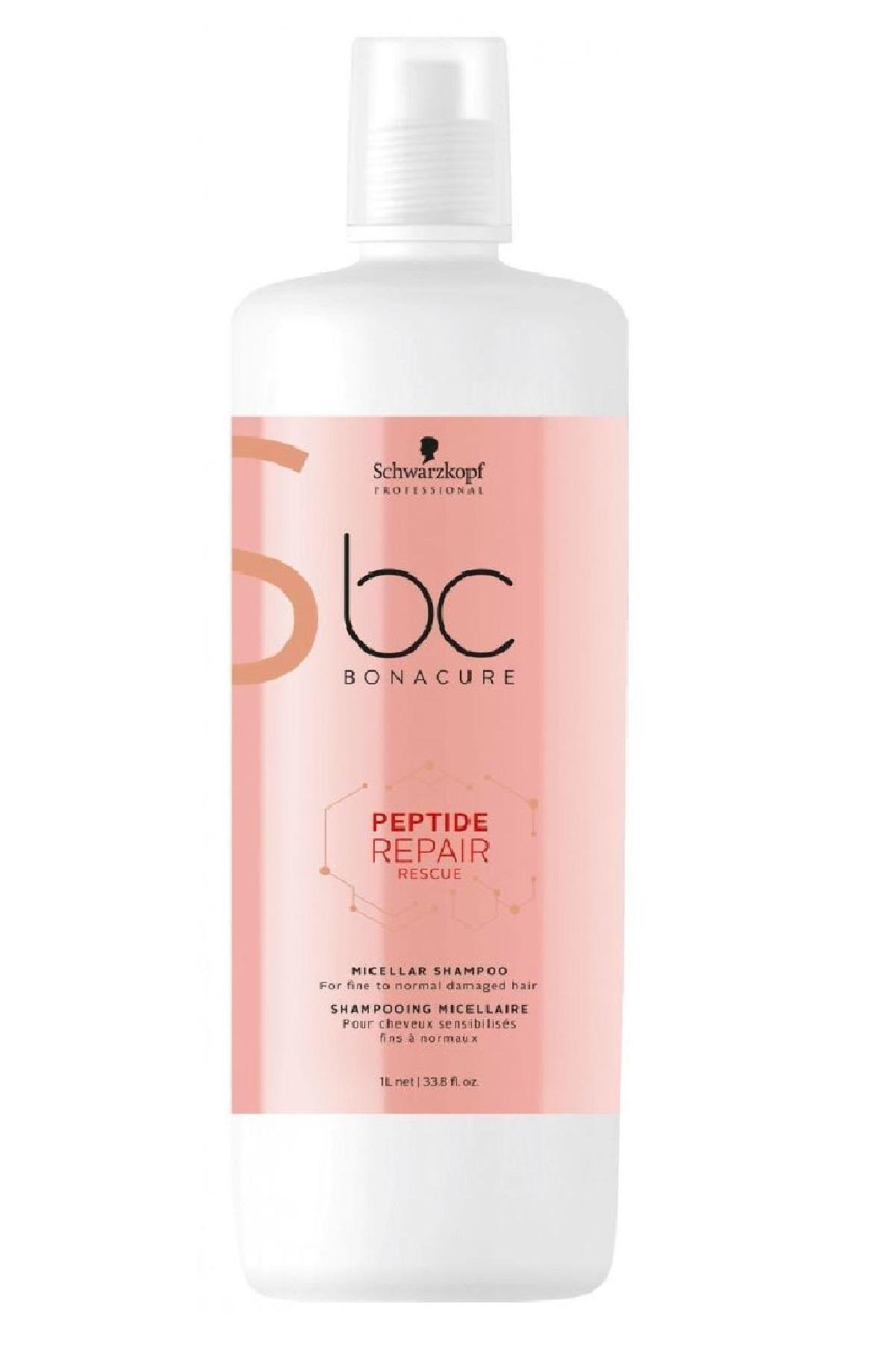Bonacure Peptide Acil Kurtarma Micellar Şampuan 1000ml 1