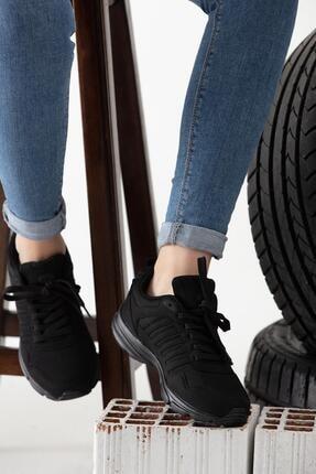 MP Siyah Spor Ayakkabısı