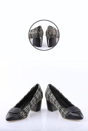Buffalo Kadın Regina Siyah Topuklu Ayakkabı