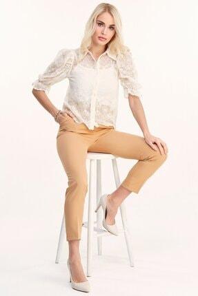 Fulla Moda Kemerli Pantolon