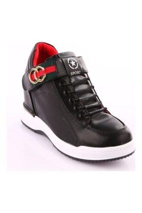 Guja 18k341-3 Siyah Kadın Günlük Ayakkabı Gizli Topuk