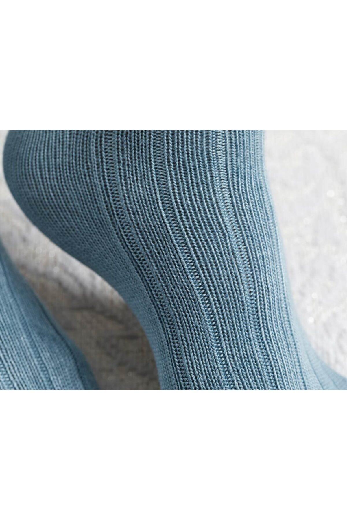 English Home Caraline Bambu Kadın Çorap Yeşil 2