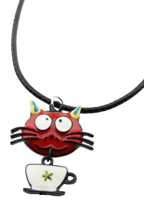 Cadının Dükkanı Minik Ebatlı Kedi Çocuk-genç Kolye