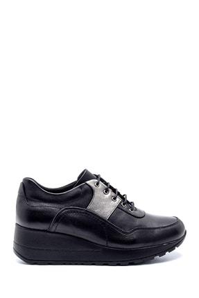 Derimod Kadın Deri Dolgu Topuk Sneaker