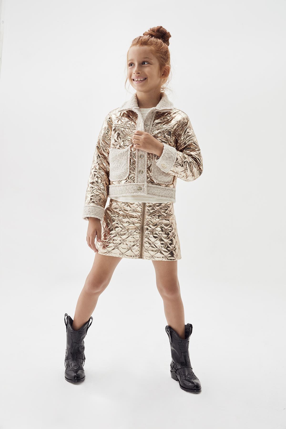 Tyess Kız Çocuk Bronz Etek 20fw0tj4306 1