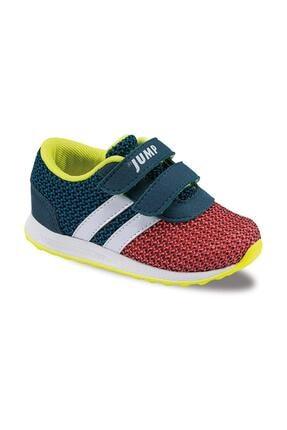 Jump Turuncu Petrol Yeşili Bebe Spor Ayakkabı 15680