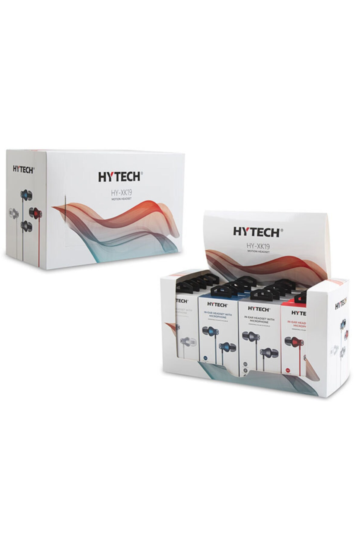 Hytech Hy-xk19 Kırmızı Mobil Uyumlu Kulak Içi Mikrofonlu Kulaklık 2