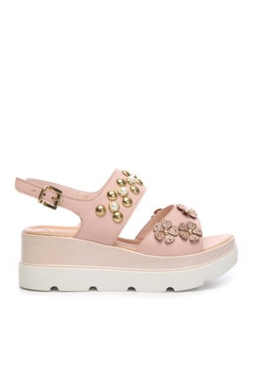 KEMAL TANCA Kadın Derı Sandalet Sandalet 169 53074 Bn Sndlt