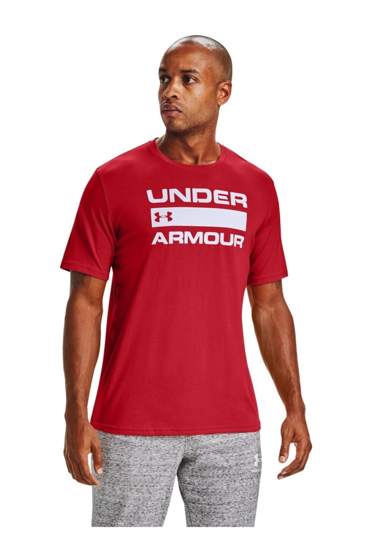 Under Armour Erkek Spor T-Shirt - Ua Team Issue Wordmark Ss - 1329582-608 1