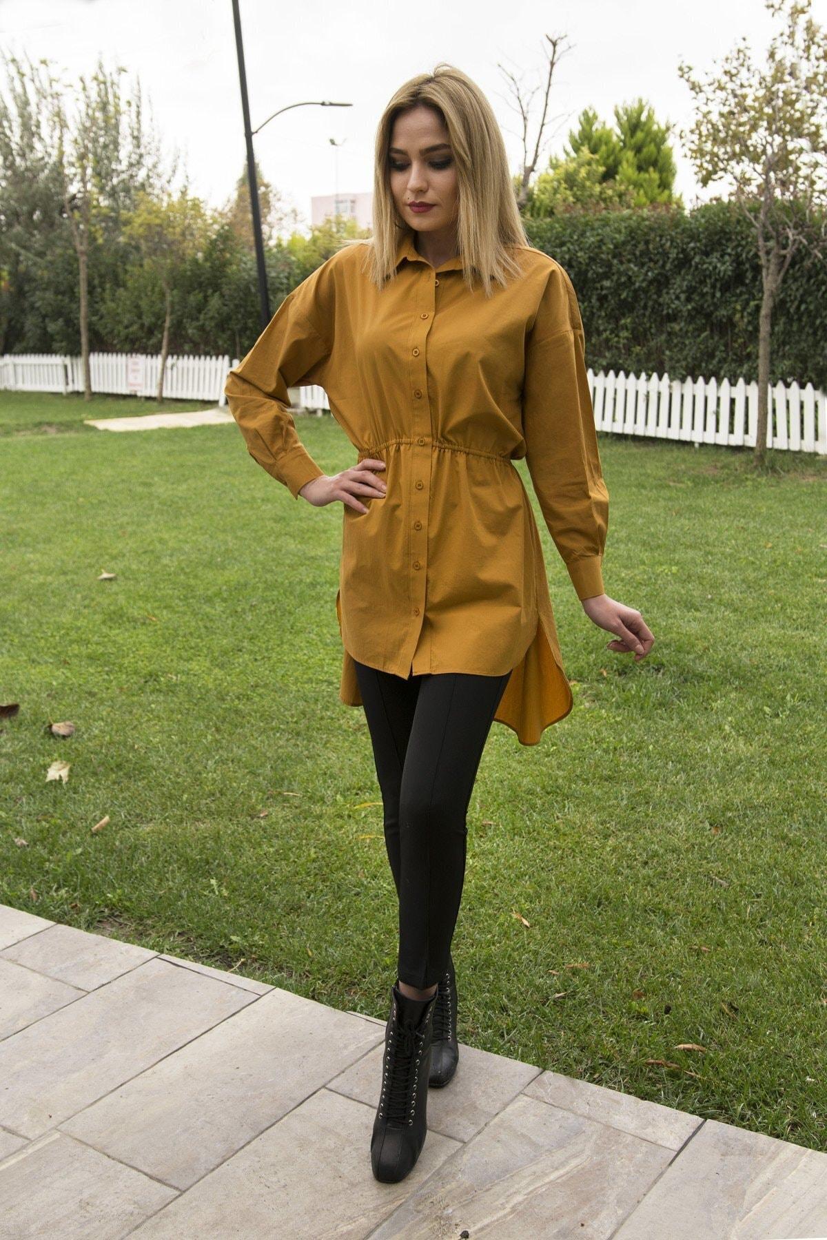 CurcunaShop Gömlek Elbise 1