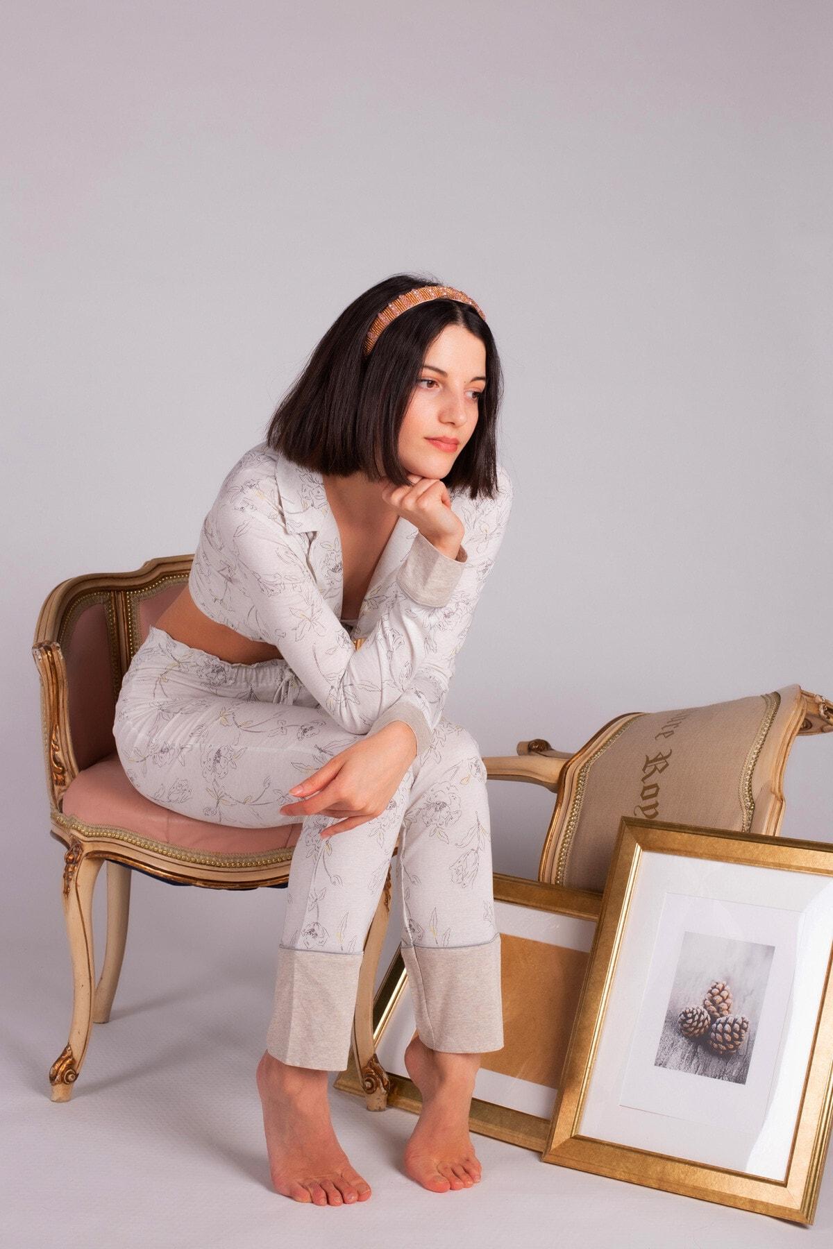Hays Kadın Modal Uzun Pijama Takımı 1
