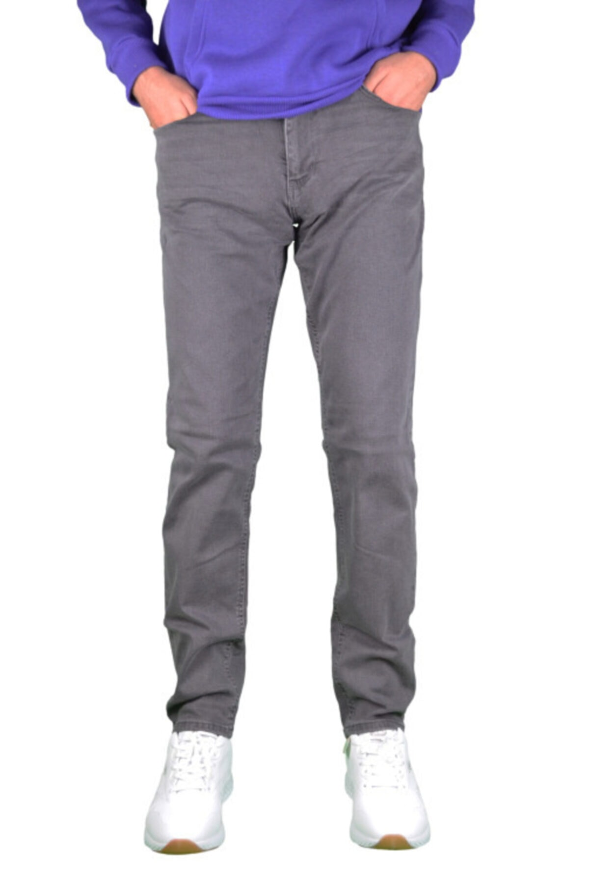 Loft Regular Fit, Füme Erkek Pantolon 1