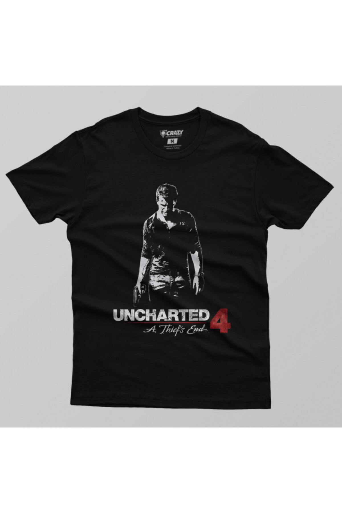 Crazy Uncharted 4 Thief Shadow Erkek Tişört 2