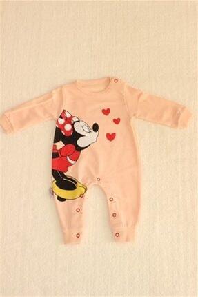 Murat Baby Mınnıe Mouse Kalpli Tulum