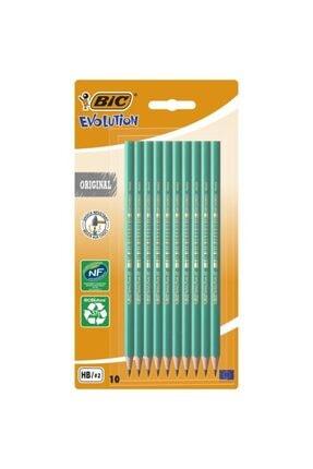 Bic Bıc Evolution 650 Hb Kurşun Kalem 10'lu Blister