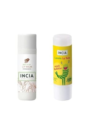 Incia Lip Balm Cinnamon 6 Gr 1 Adet - Kids Lemon 1 Adet 1 Alana 1 Bedava