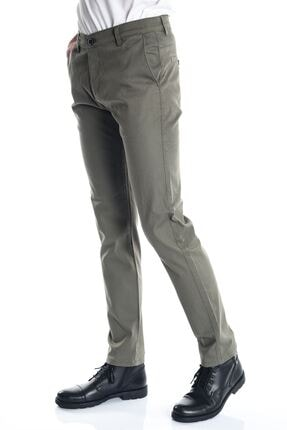 LTC Jeans Haki Slimfit Chino Erkek Pantolon