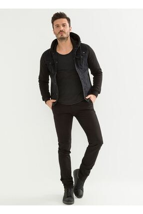 LTC Jeans Siyah Slim Fit Chino Erkek Pantolon