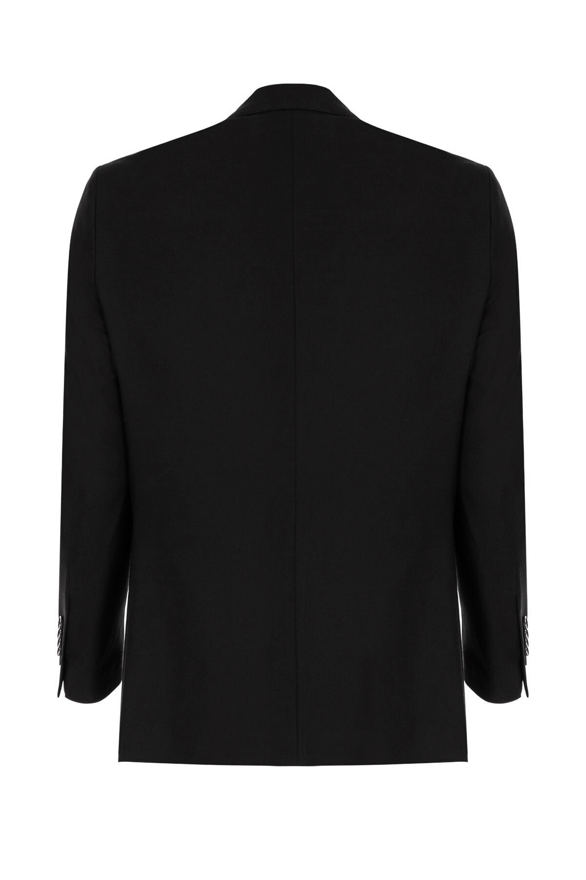 İgs Erkek Siyah Regularfıt / Rahat Kalıp Std Takım Elbise 2