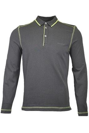 Stonemale Uzun Kol Polo Yaka T-shirt