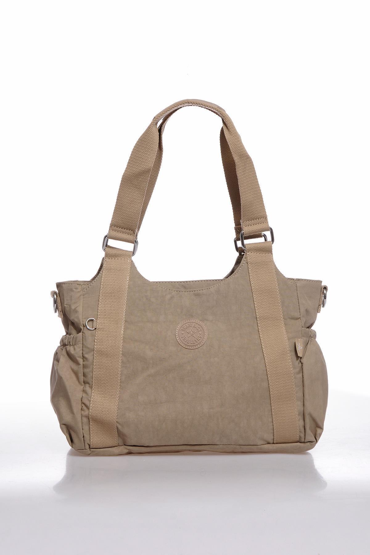 SMART BAGS Kadın Omuz Çantası Smbk1163-0015 A.vizon 1