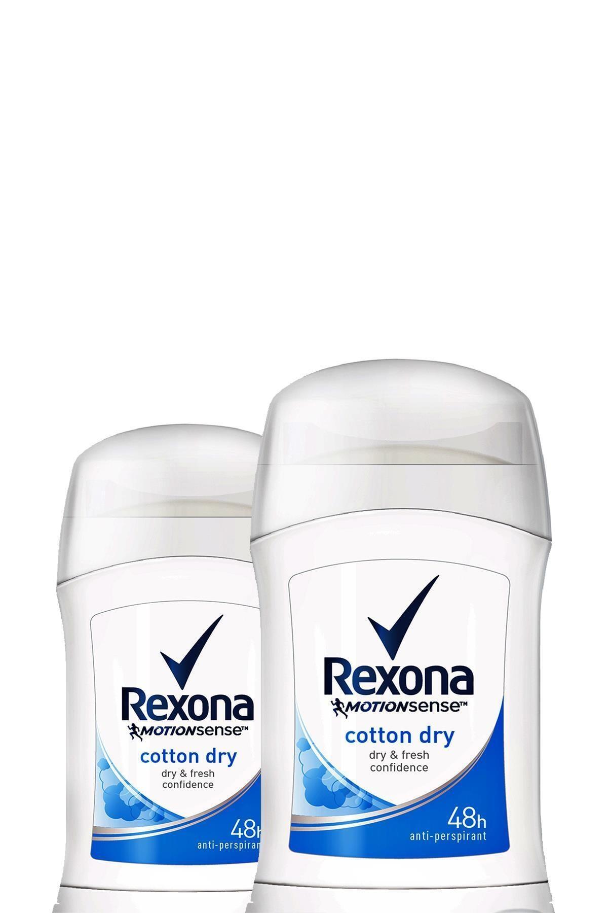 Rexona Kadın Deodorant Stick Cotton Dry 40 ml X2 1