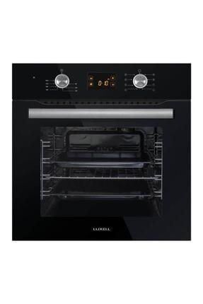 Luxell B66-sf2 Ddt 8 Program Pop-up Siyah Cam Ankastre Fırın