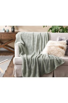 English Home Softy Wellsoft Tv Battaniye 120x170 Cm Acı Yeşil