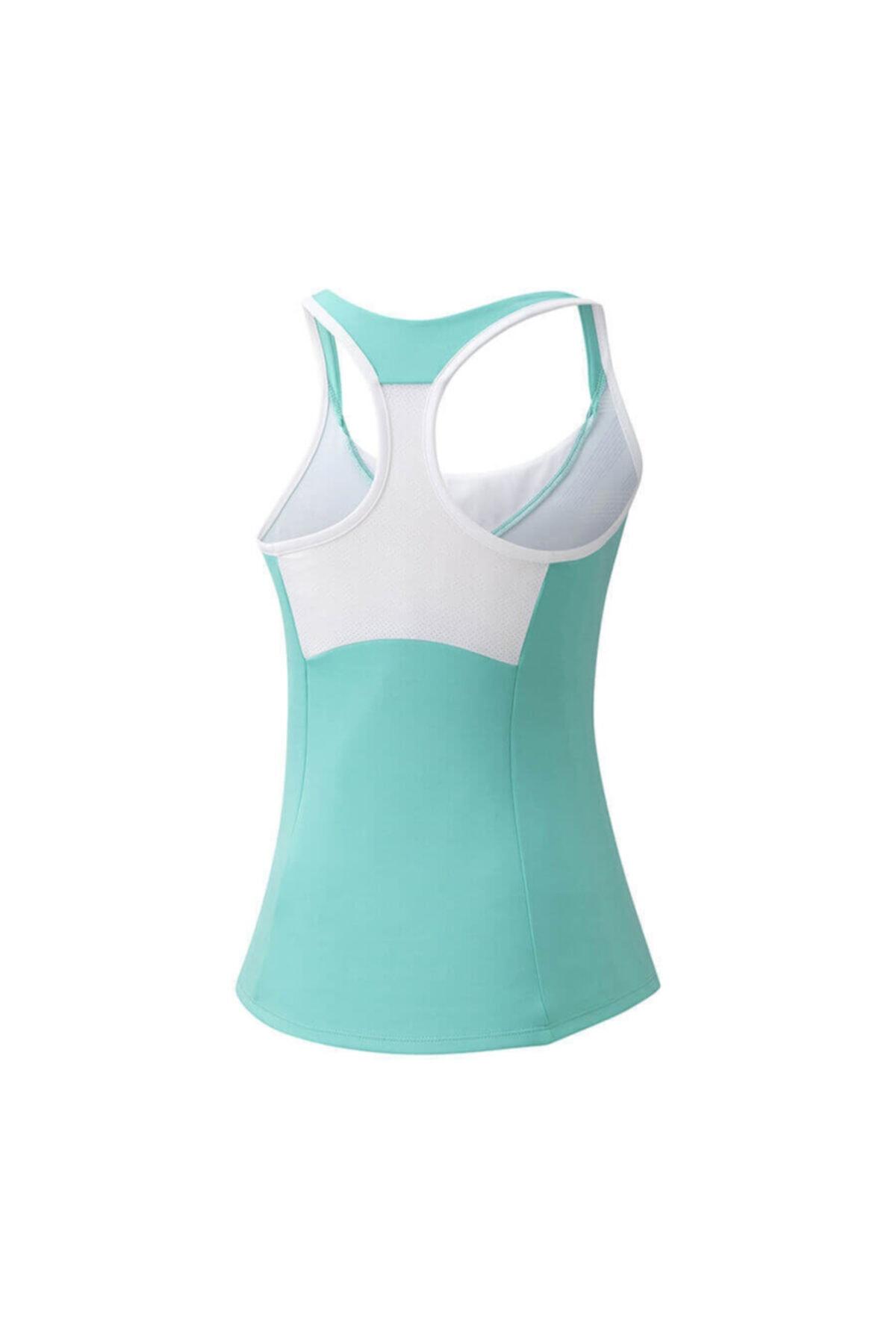 MIZUNO Printed Tank Kadın T-shirt Su Yeşili 2