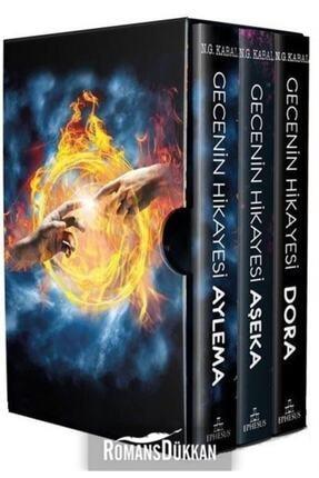 Ephesus Yayınları Gecenin Hikayesi Seti-3 Kitap Takım