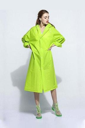 Arsimo Unisex Yağmurluk Kapüşonlu Yeşil