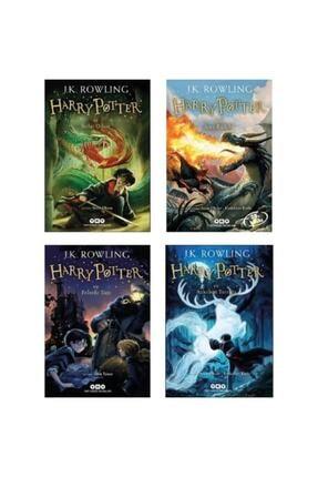 Yapı Kredi Yayınları Harry Potter Ve Felsefe Taşı - Sırlar Odası - Azkaban Tutsağı - Ateş Kadehi Harry Potter Set