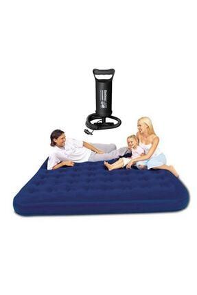 BESTWAY Üç Kişilik Şişme Yatak Ve El Pompası Bw109