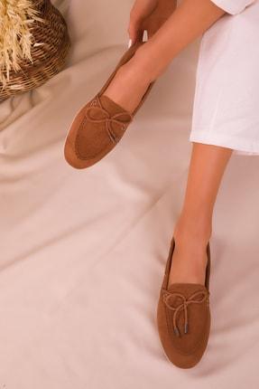 SOHO Taba Süet Kadın Casual Ayakkabı 16099